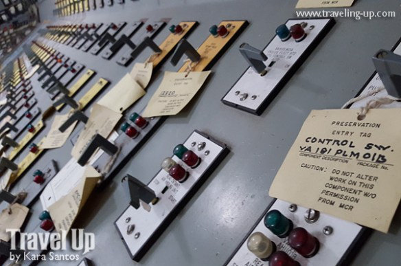 19. bataan nuclear power plant control room panel