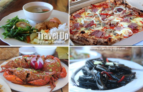 camiguin meals camridge inn j & a fishpen luna pizza