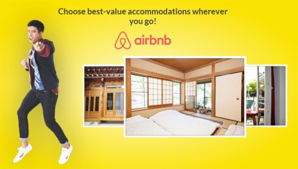airbnb sun promo screenshot