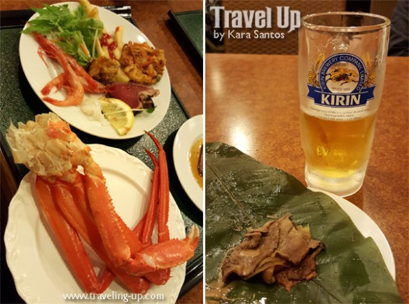 japan kirin crab claws hida beef