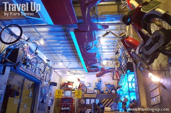 vintage garage bar legazpi bicol interiors
