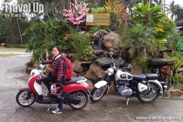 motorcycle manila to naga batis aramin lucban quezon