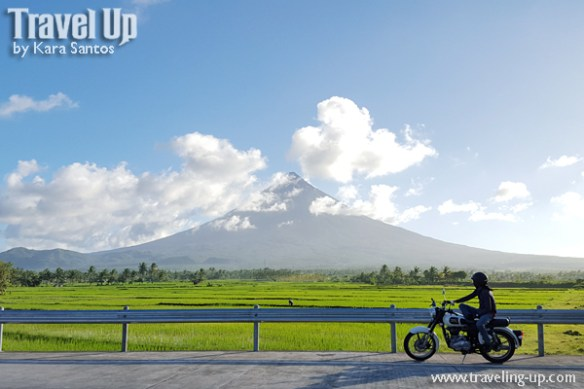 motorcycle mayon volcano bicol royal enfield