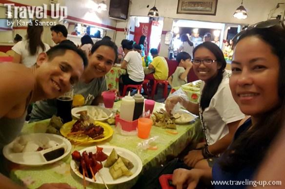 post climb meal cebu bbq