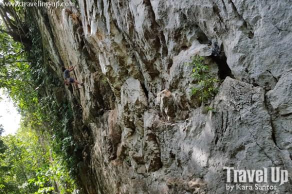 rock climbing cantabaco cebu climber2