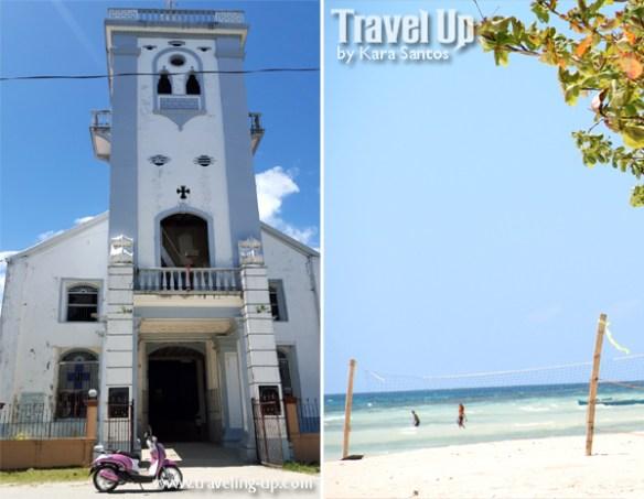 bohol by motorcycle anda beach church
