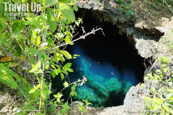 bohol by motorcycle cabagnow cave pool