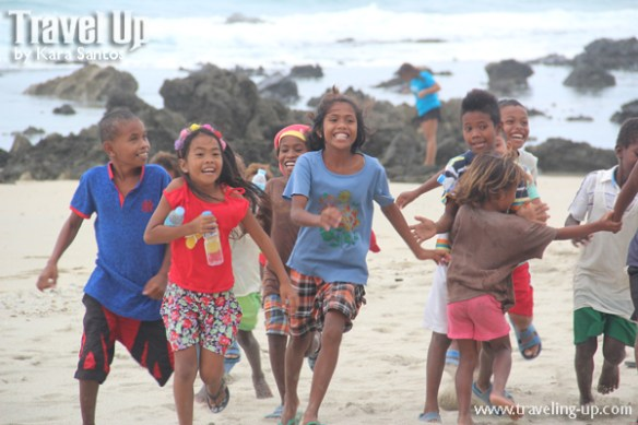 freewaters philippines aurora launch beach kids running
