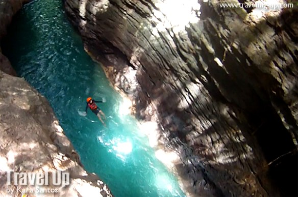 kawasan canyoneering ceby river canyon travelup
