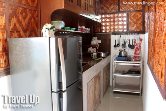 mabuhay motorcycle tours bohol kitchenette
