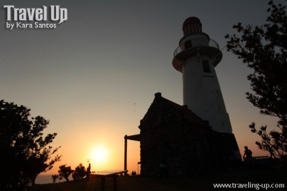 batanes basco lighthouse sunset