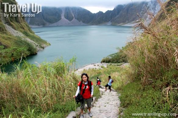 hiking mt. pinatubo crater lake travelup