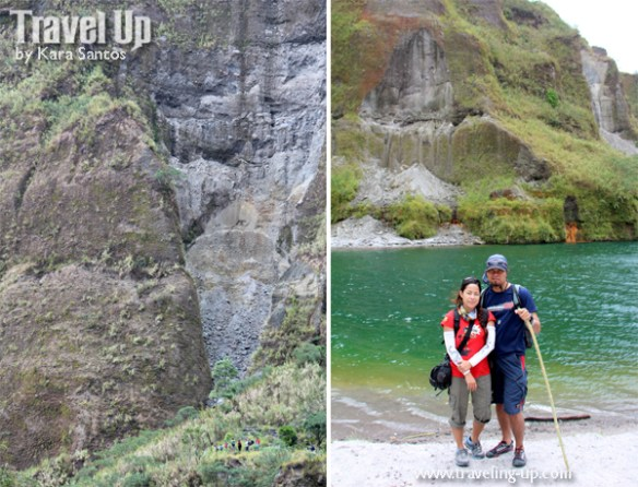 mt. pinatubo crater lake travelup outsideslacker