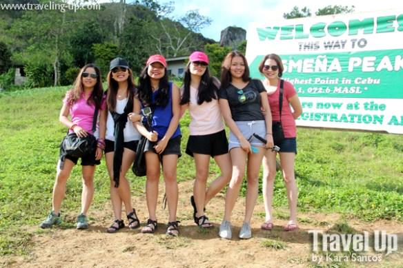 osmena peak dalaguete cebu group photo