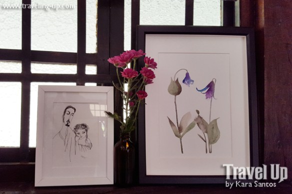 stay at the plant bistro tagaytay sketch flowers