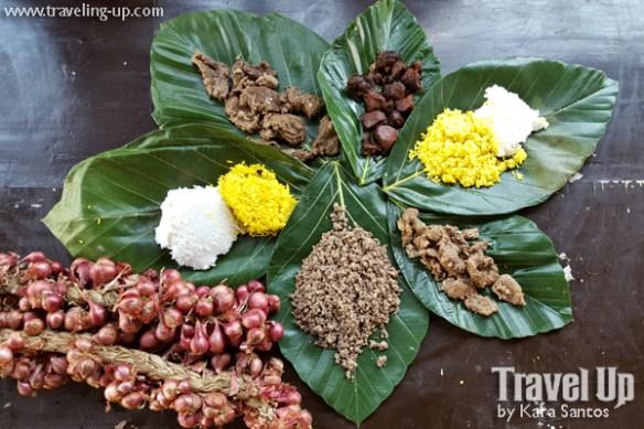 13. sabtang island batanes food onions lunis turmeric rice leaves
