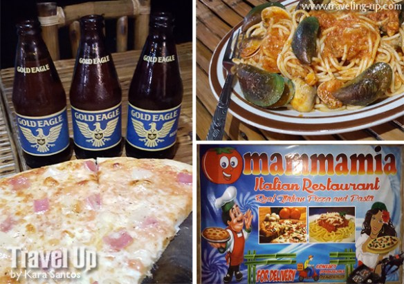 mammamia italian restaurant antique pizza gold eagle beer