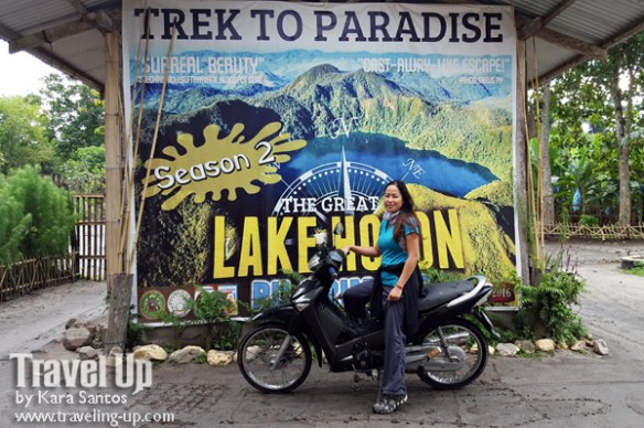 lake holon south cotabato motorcycle travelup signage