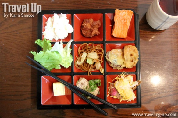 japan-bento-meal-salmon-tea