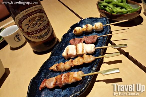 japan-yakitori-kirin-beer-edamame