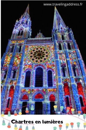 épingle pinterest cathédrale de chartres en lumières
