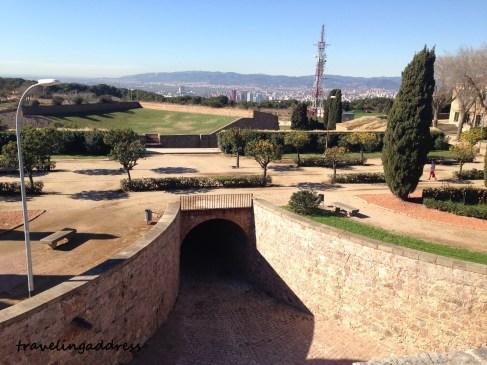 montjuic castle barcelona