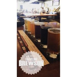 Rock Bottom Restaurant & Brewery taster tray
