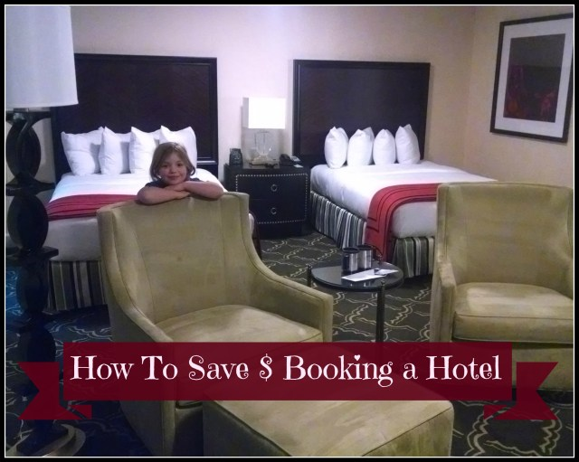 tips to save money traveling hotel room