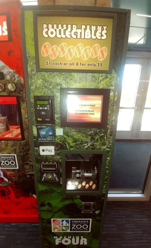 omaha zoo pressed penny machine