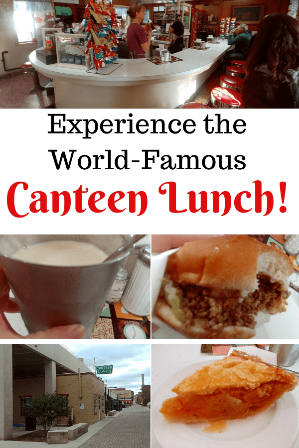 Experience the World-Famous Canteen Restaurant Lunch!