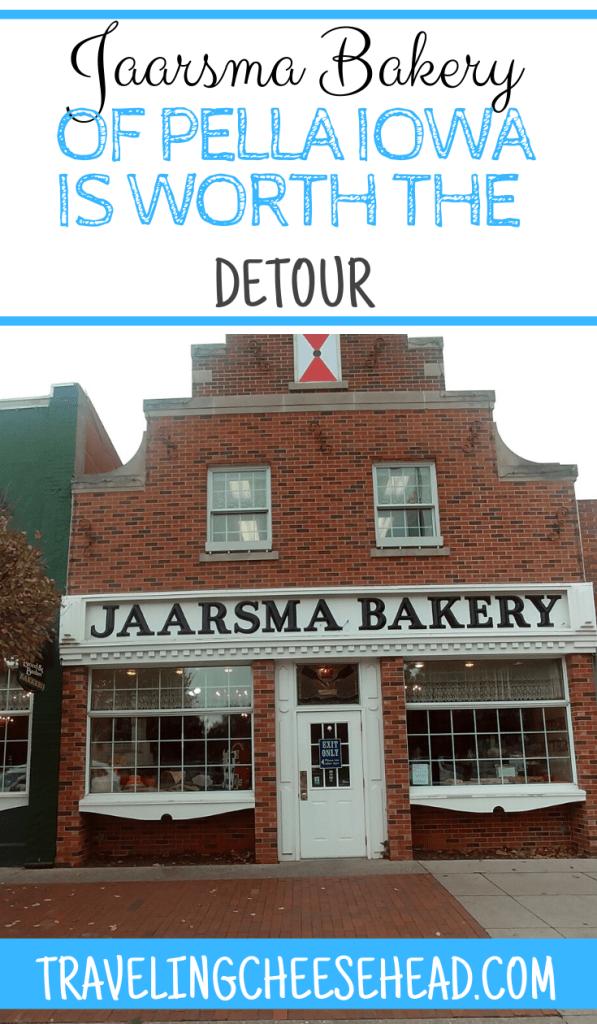 Jaarsma Bakery Pella Iowa