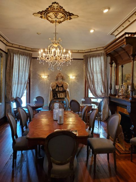 The Baker House - Living History In The Modern Day formal dining room