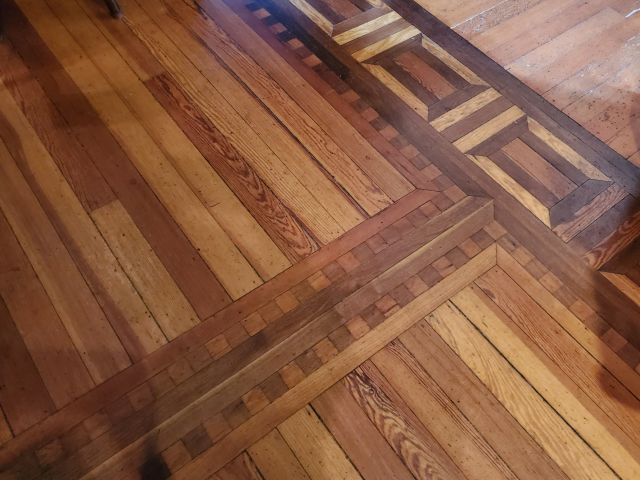 The Baker House - Living History In The Modern Day beautiful wood floors