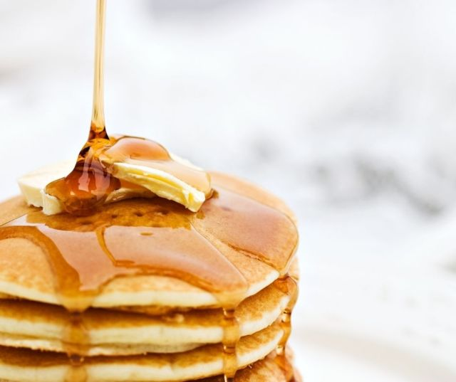 how to cook pancakes with a coffee pot