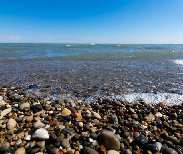 Lake Michigan at racine