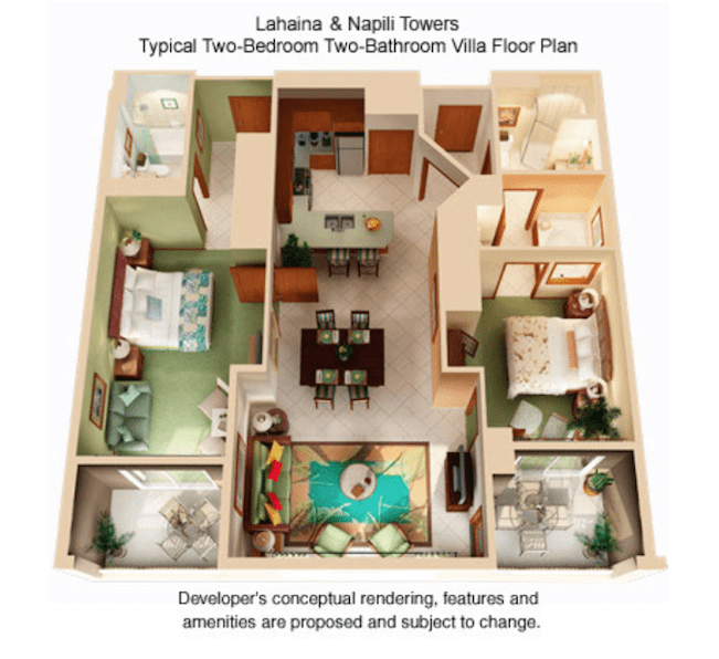 Kaanapali Beach Club Floor Plan.Beach Resort : Kaanapali ...