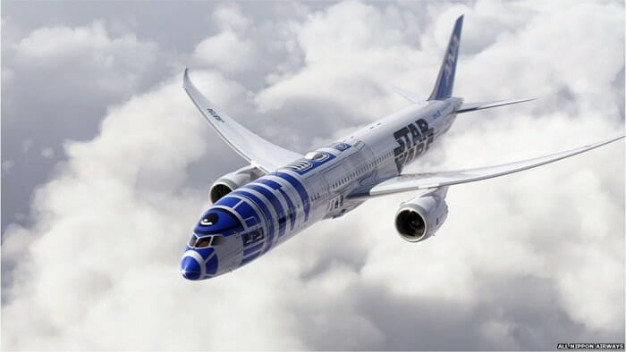 ANA Star Wars R2D2