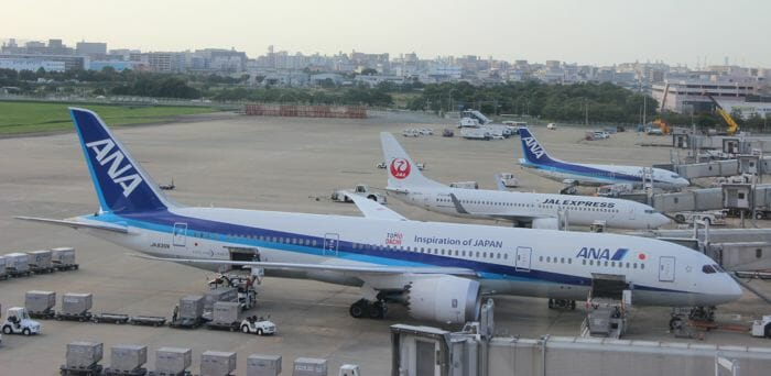 ANA 787-900 Aircraft