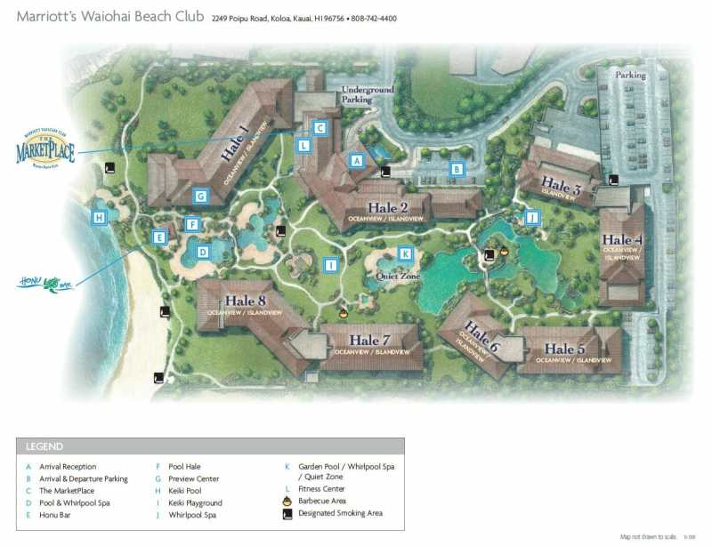 Marriott Waiohai Club Floor Plan 28 Images Review