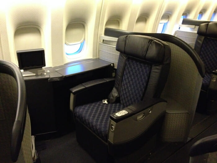 Solo Travelers American First Class Miles Saaver Awards