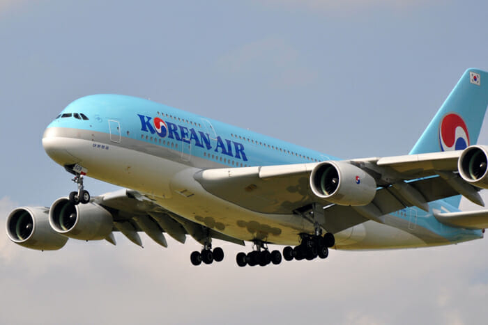 Korean Air A380 First Class Awards