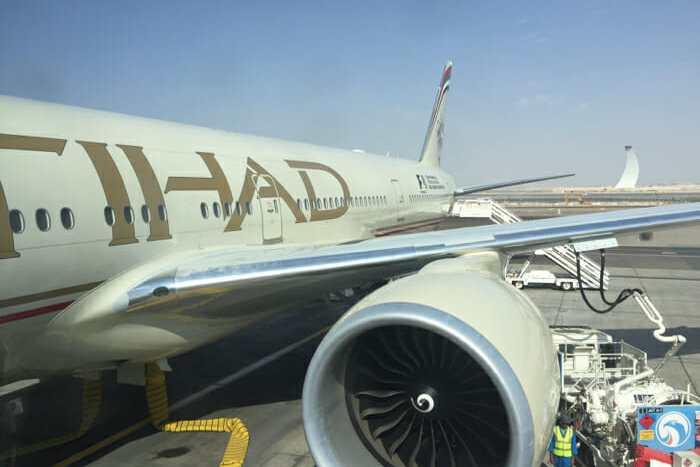 Etihad Business Class 777-300