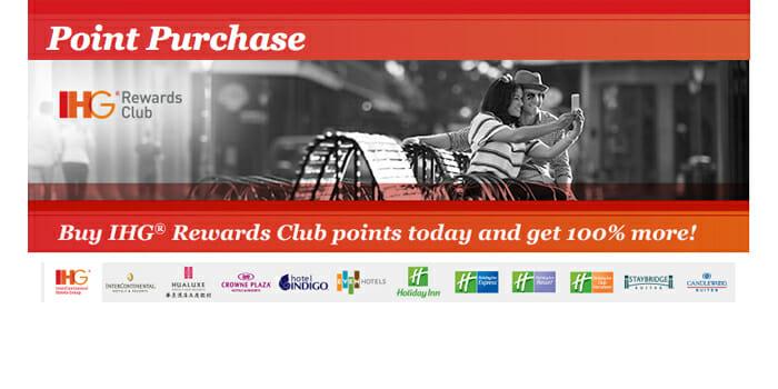 Buy IHG Rewards Points