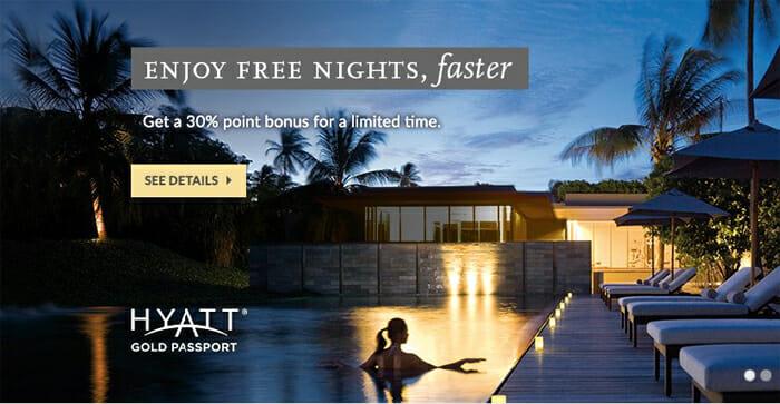 Buy Hyatt Points With 30% Bonus