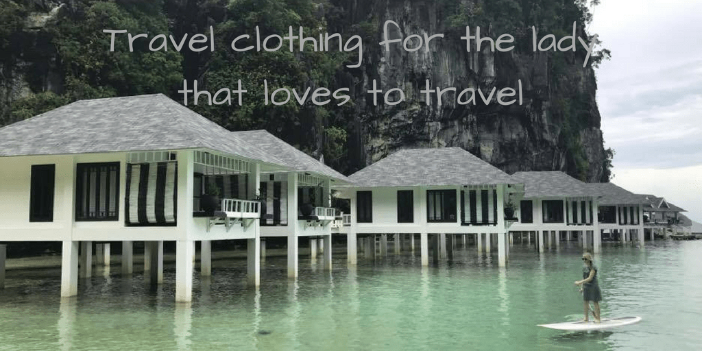 Travel clothing for the lady that loves to travel