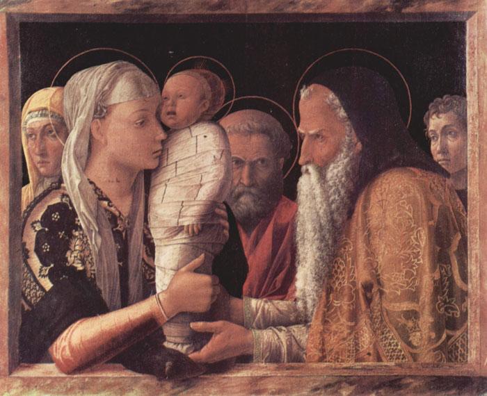 Art in Tuscany  Andrea Mantegna and Giovanni Bellini  Presentation at the Temple  Podere