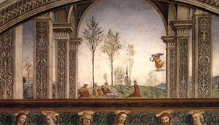 Arte in Toscana  Pietro Perugino  LUltima cena nel
