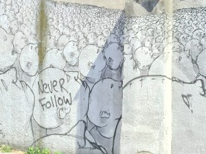Never follow