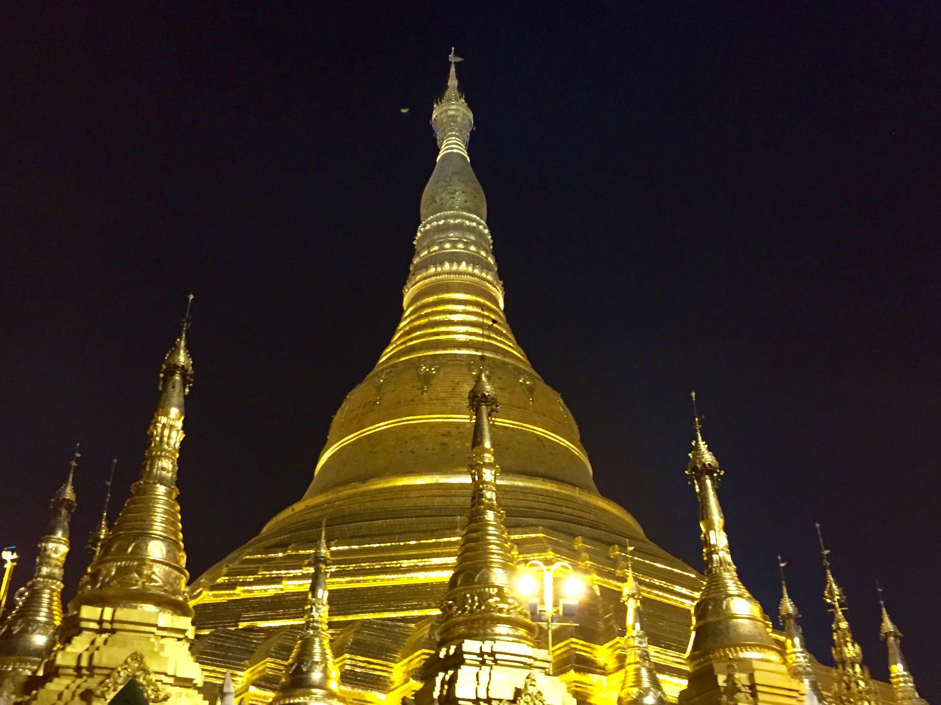 Asian country is called land of the golden pagoda