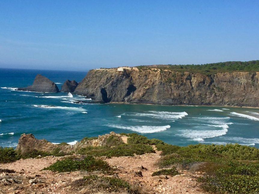 A random beach in the Northeastern Algarve